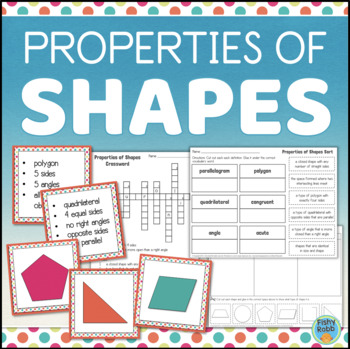 Properties of Shapes Activities