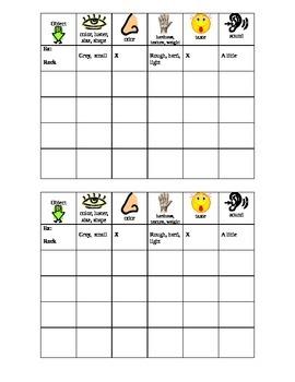 Properties of matter journal sheet