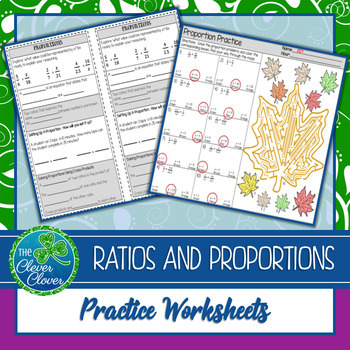 Proportion Notes and Worksheets