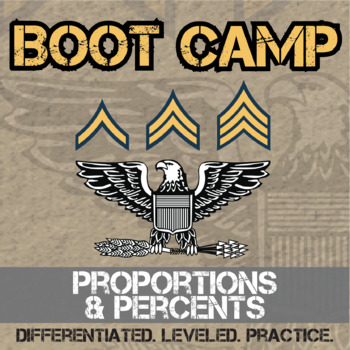 Proportion & Percent Boot Camp -- Differentiated Practice