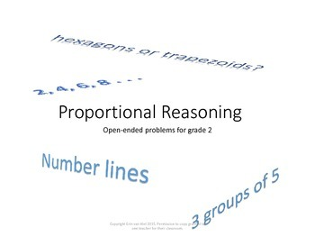 Proportional Reasoning Grade Two