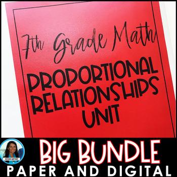 Proportional Relationships Big Bundle
