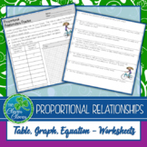 Printables Proportional Relationships Worksheets Christmas the clever clover teaching resources teachers pay proportional relationships worksheet 7 rp 2