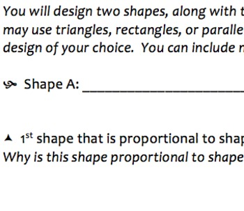 Proportional Shapes Mini Project (Could Possibly be Used f