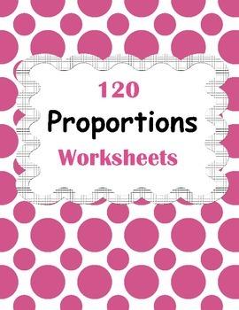 Proportions Worksheets