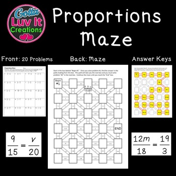 Proportions - 2 Mazes