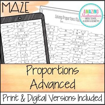 Proportions Maze - Advanced