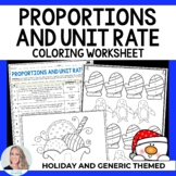 Proportions and Unit Rate