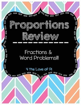 Proportions with Fractions