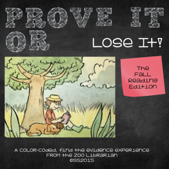 Prove It Or Lose It! (The Autumn Reading Edition) finding