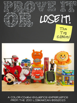 Prove It Or Lose It! (The Toy Edition) finding text eviden