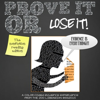 Prove it or Lose It! (The Nonfiction Reading Edition) find