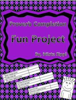 Idiom and Proverb Completion Challenge