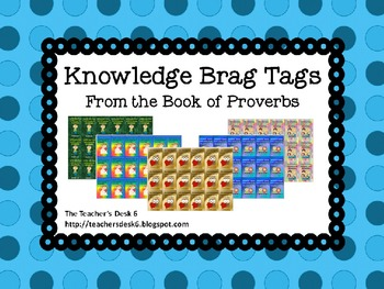 Proverbs Brag Tags Verses about Knowledge