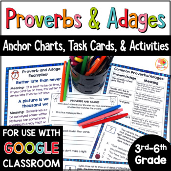 Proverbs and Adages Activities