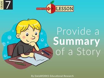Provide a Summary of a Story