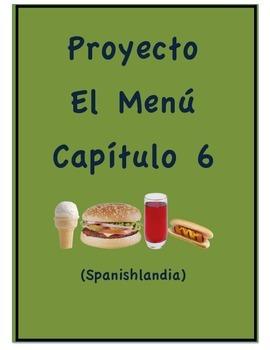 Proyecto - Exprésate 1 Capítulo 6 - El Menú (Project)