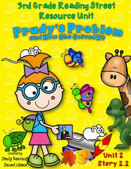 Prudy's Problem and How She Solved It Reading Street 3rd R