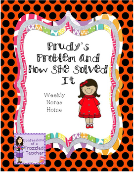 Prudy's Problem and How She Solved It Weekly Letters (Read