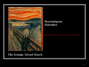 Psychological Disorders Power Point