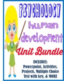 Psychology Development Unit Bundle activities, movie guide