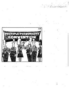 High School Psychology: Dissociative Disorders