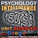 Psychology: Entire Intelligence Unit - PPTs with Video Cli
