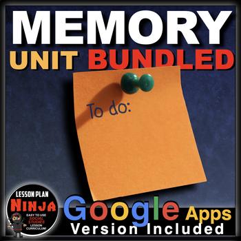 Psychology Memory Unit - PPTs, Handouts, Quiz, Project, Vi