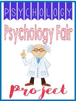 Psychology Fair Project Rubric, Research Worksheets, Exhib
