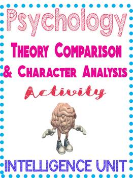 Psychology Intelligence Theory Comparison & Character Anal