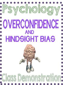 Psychology Overconfidence Demonstration Lesson Research Me