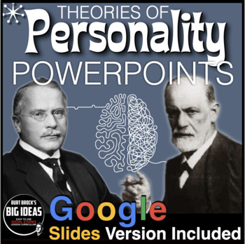 Psychology: Personality: Powerpoints with Presenter/Lectur