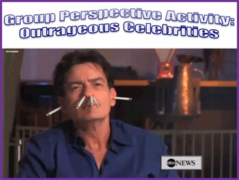 Psychology Perspectives Activity-Outrageous Celebrities