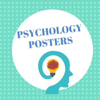 Psychology Posters (8.5 x 11)