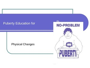 PowerPoint: Puberty Education For 5th Grade Boys