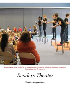 Readers Theater (from Mr. Harper Makes Us Speak and Read T