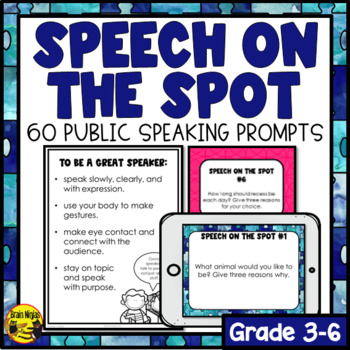 Public Speaking Prompts