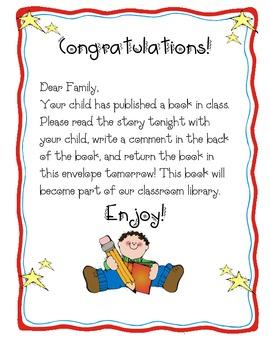Published Book Envelope