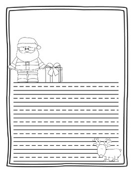 Publishing Paper - Santa Theme