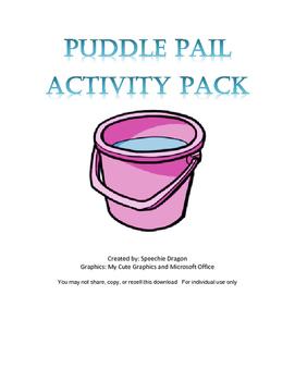 Puddle Pail Activity Pack