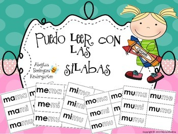 Puedo leer con las silabas!!