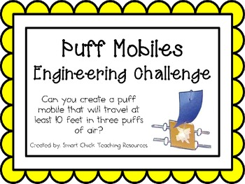 Puff Mobiles: Engineering Challenge Project ~ Great STEM A