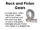 Pulleys and Gears Posters