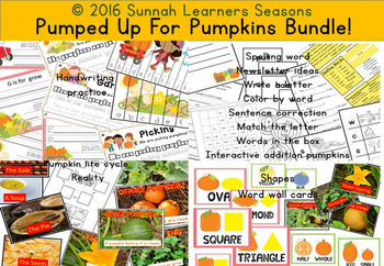 Pumped Up For Pumpkins Bundle