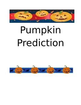 Pumpkin Activities Packet