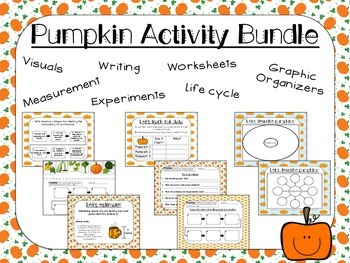Pumpkin Activity Bundle