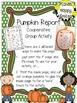 Pumpkin Activity ~ Pumpkin Report ~ Cooperative Group Work