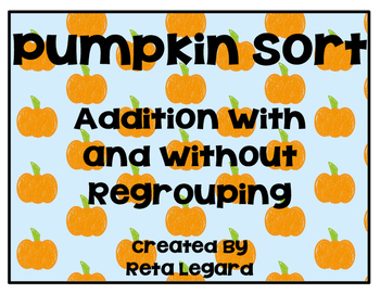 Pumpkin Addition Sort