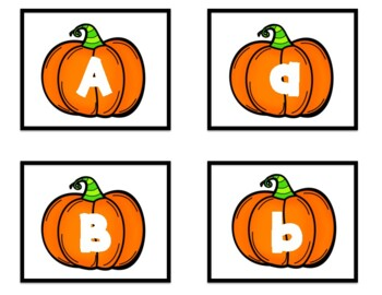 Pumpkin Alphabet Concentration