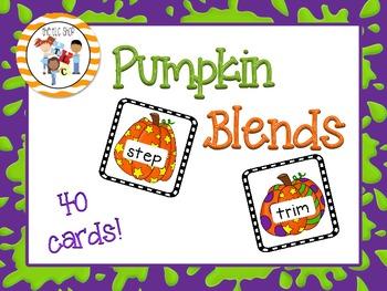 Pumpkin Blends - Initial Consonant Blends
